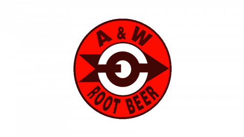 A&W Root Beer Logo 1961