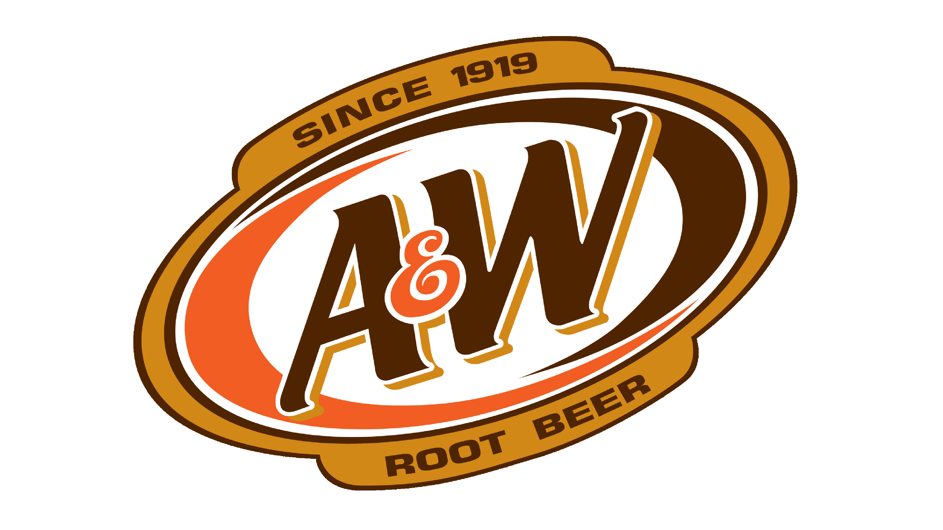 A&W Root Beer Logo Logo