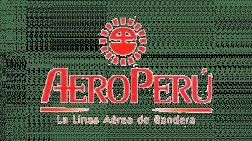 Aeroperú Logo 1985