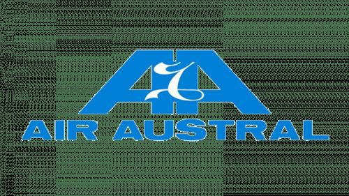 Air Austral Logo 1990