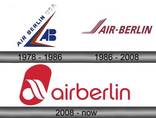 Air Berlin Logo history