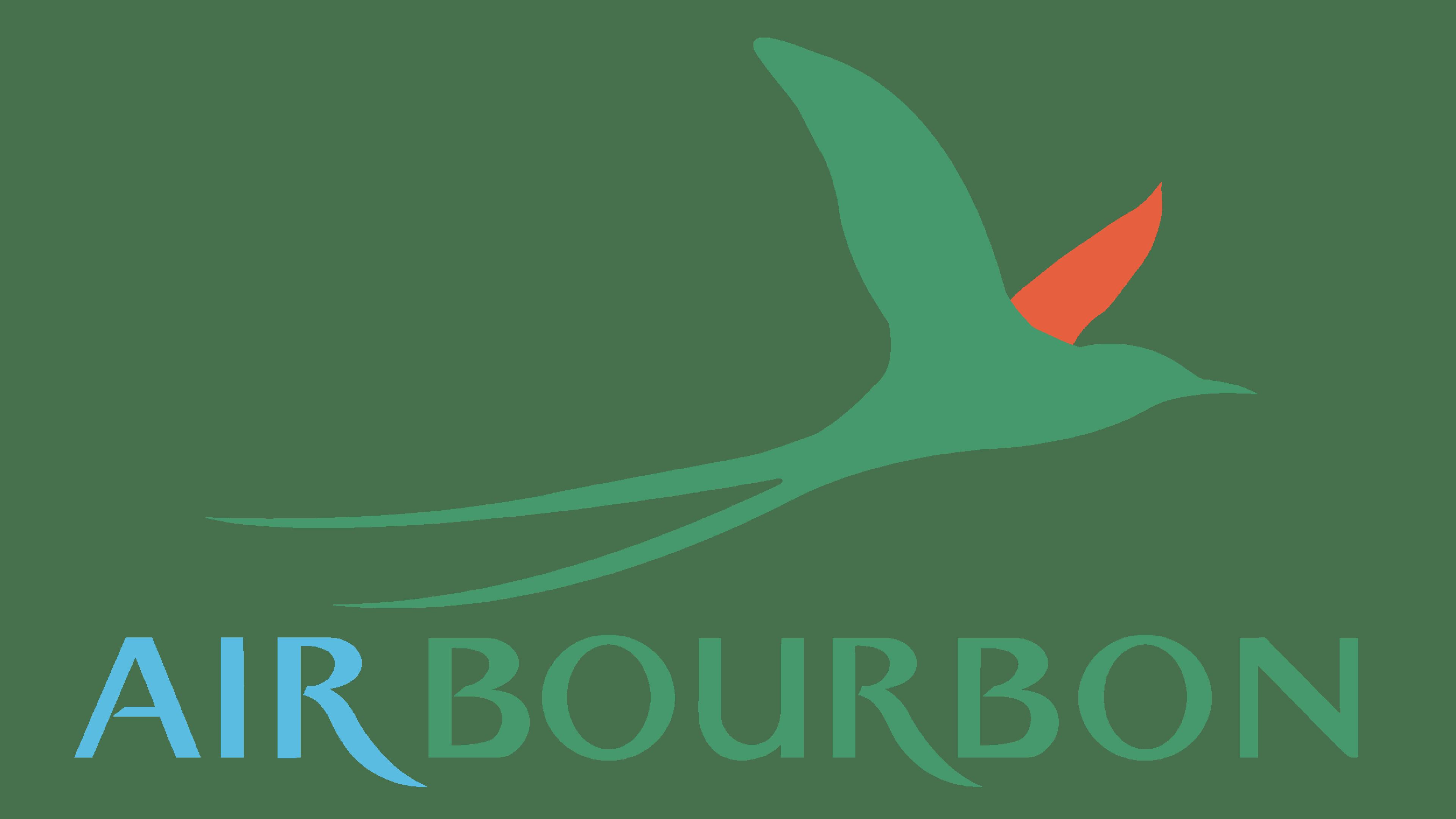 Air Bourbon Logo Logo