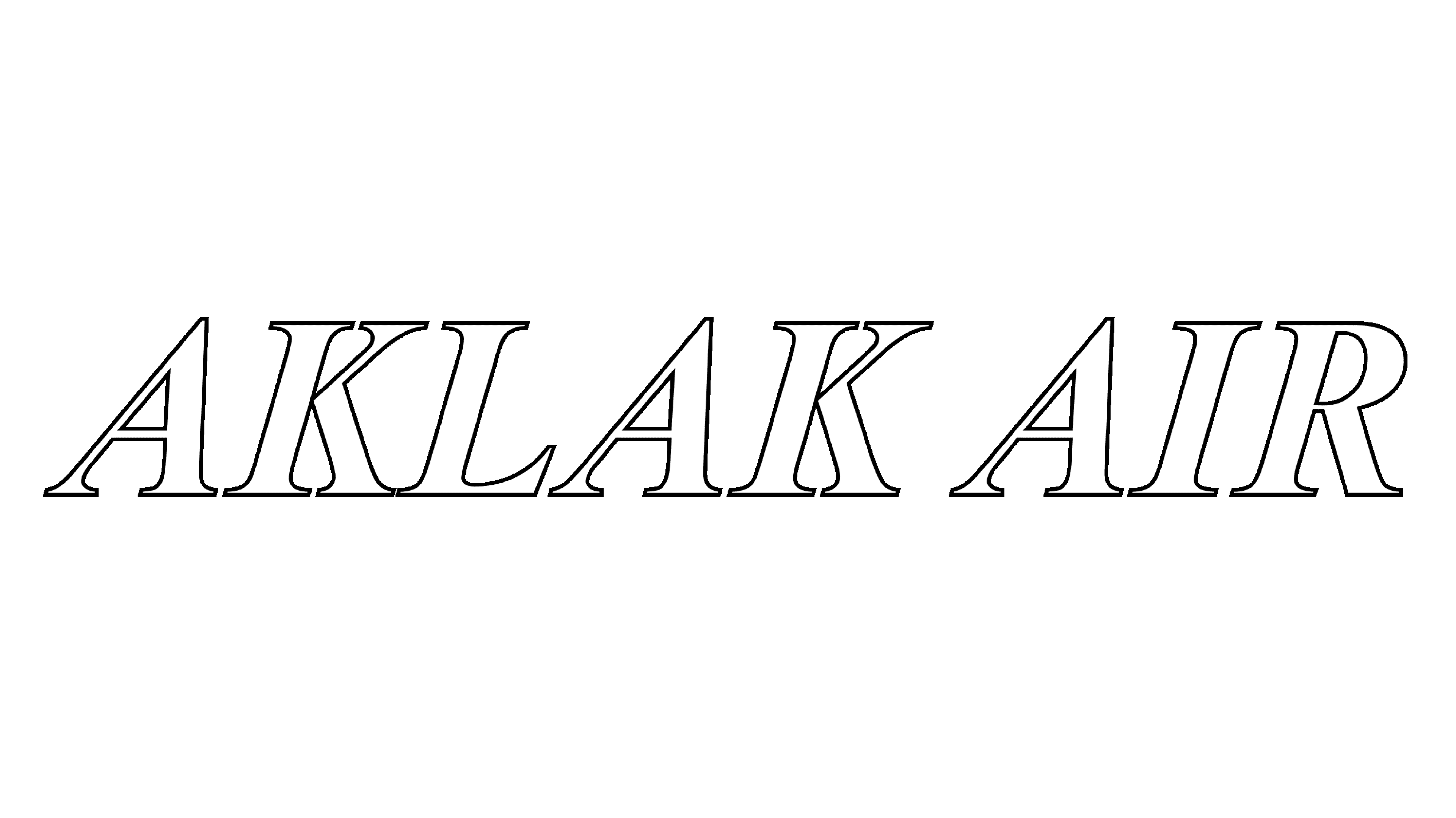 Aklak Air Logo Logo