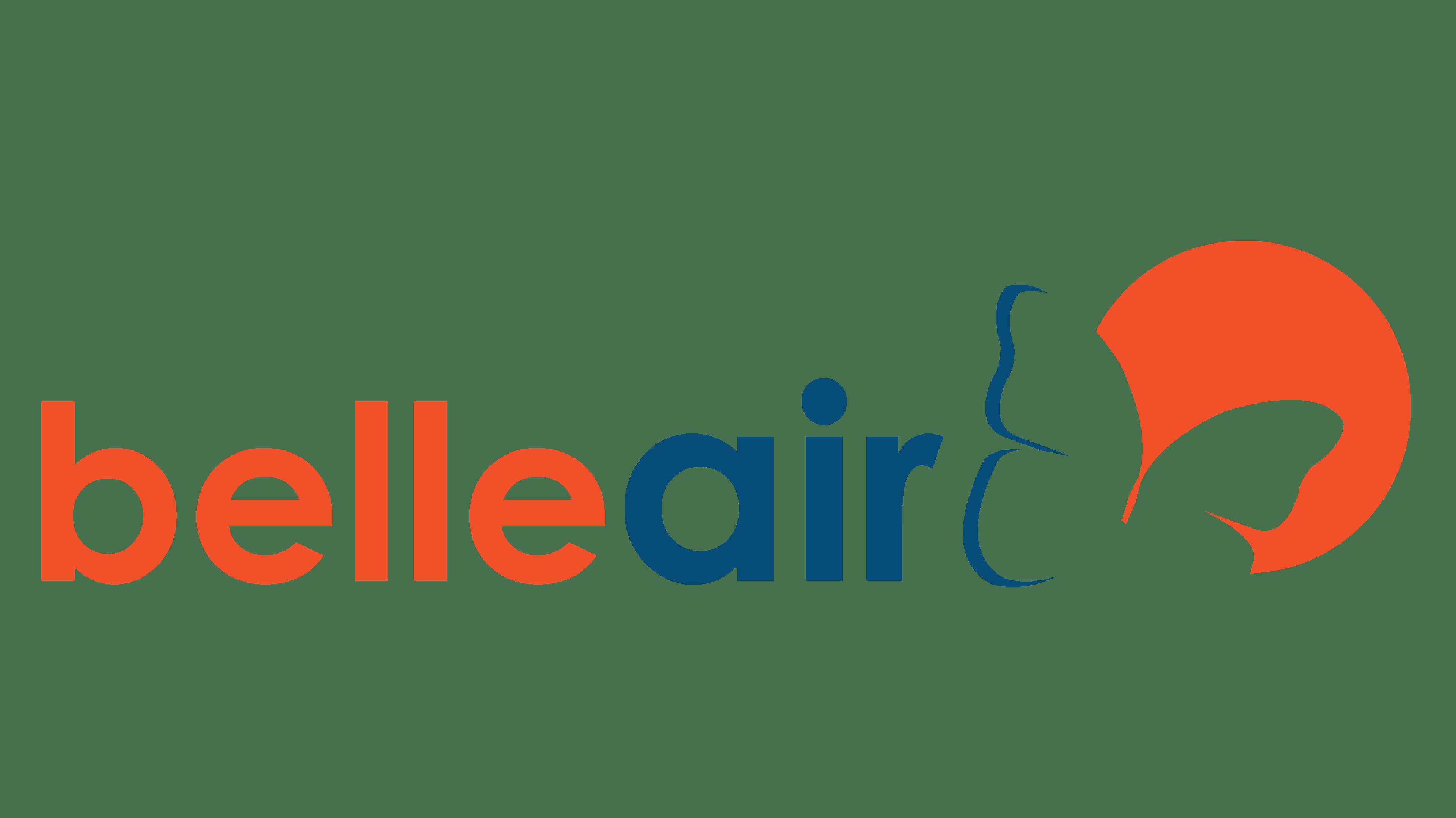 Belle Air Logo Logo