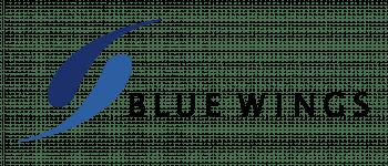 Blue Wings Logo Logo