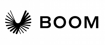 Boom Technology Logo Logo