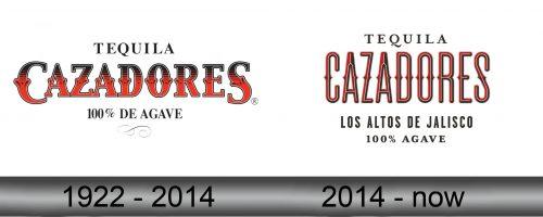 Cazadores Logo history