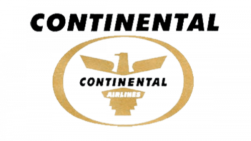 Continental Airlines Logo 1960