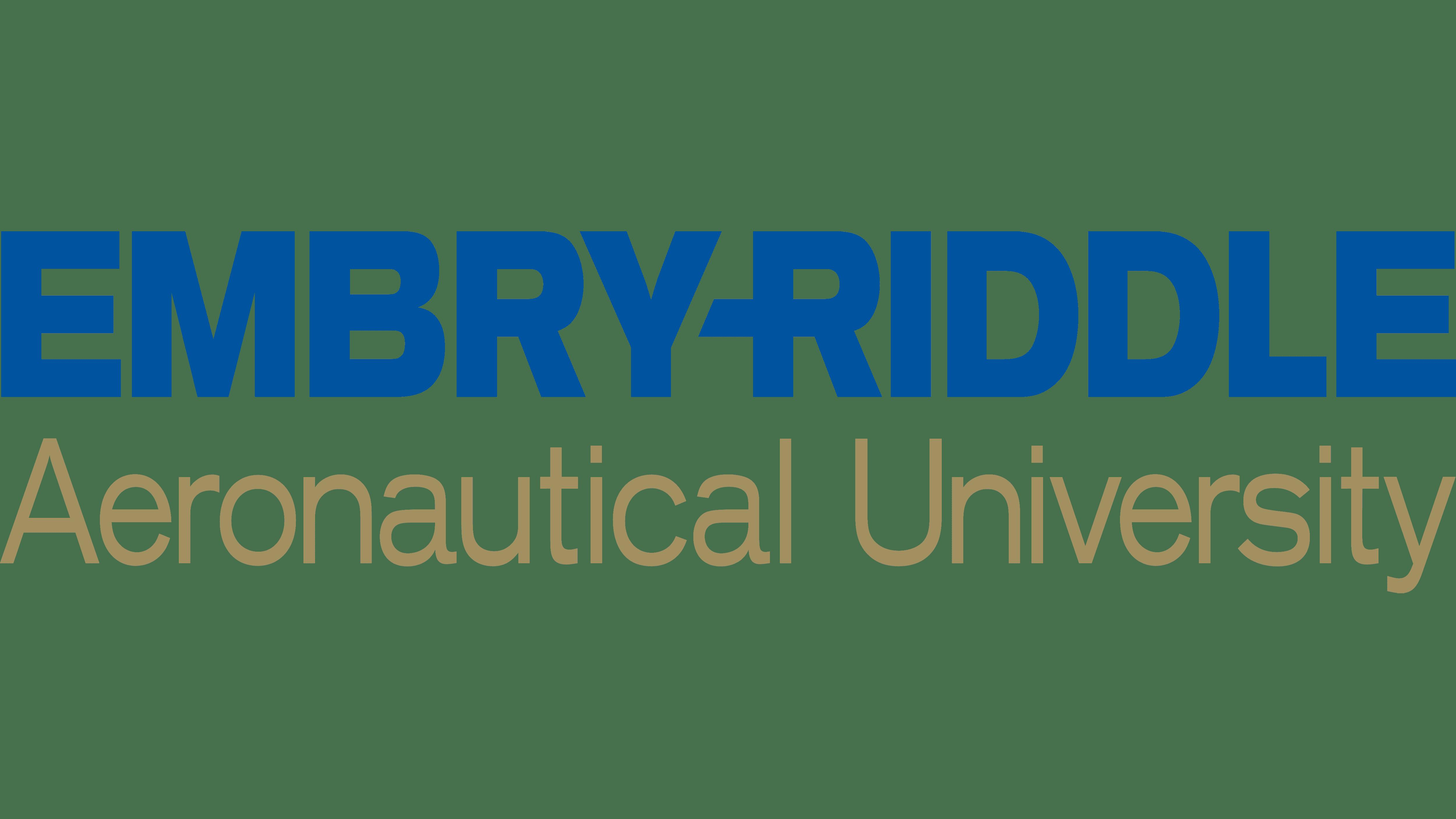 Embry-Riddle Aeronautical University Logo Logo