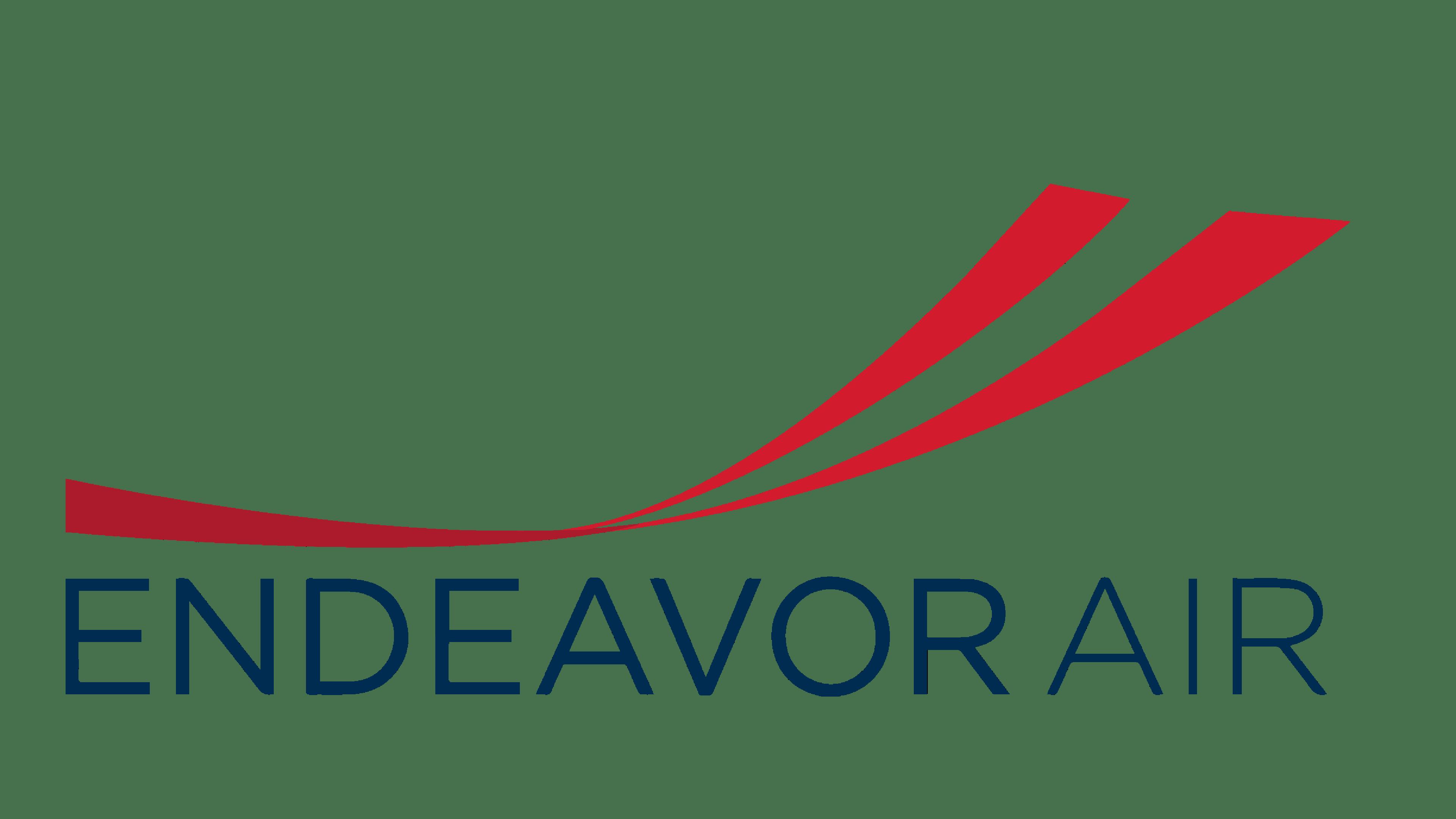 Endeavor Air Logo Logo