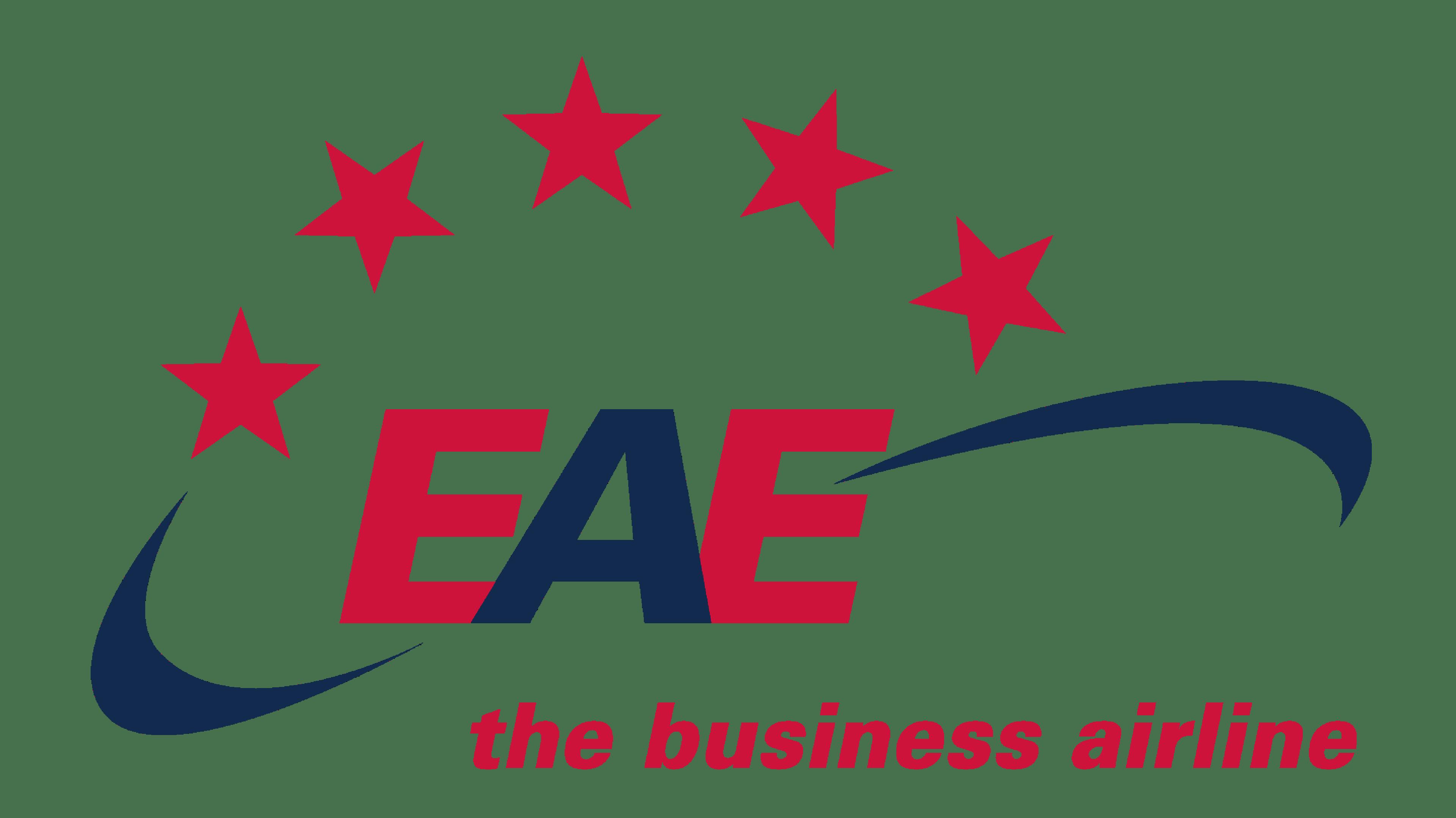 European Air Express Logo Logo