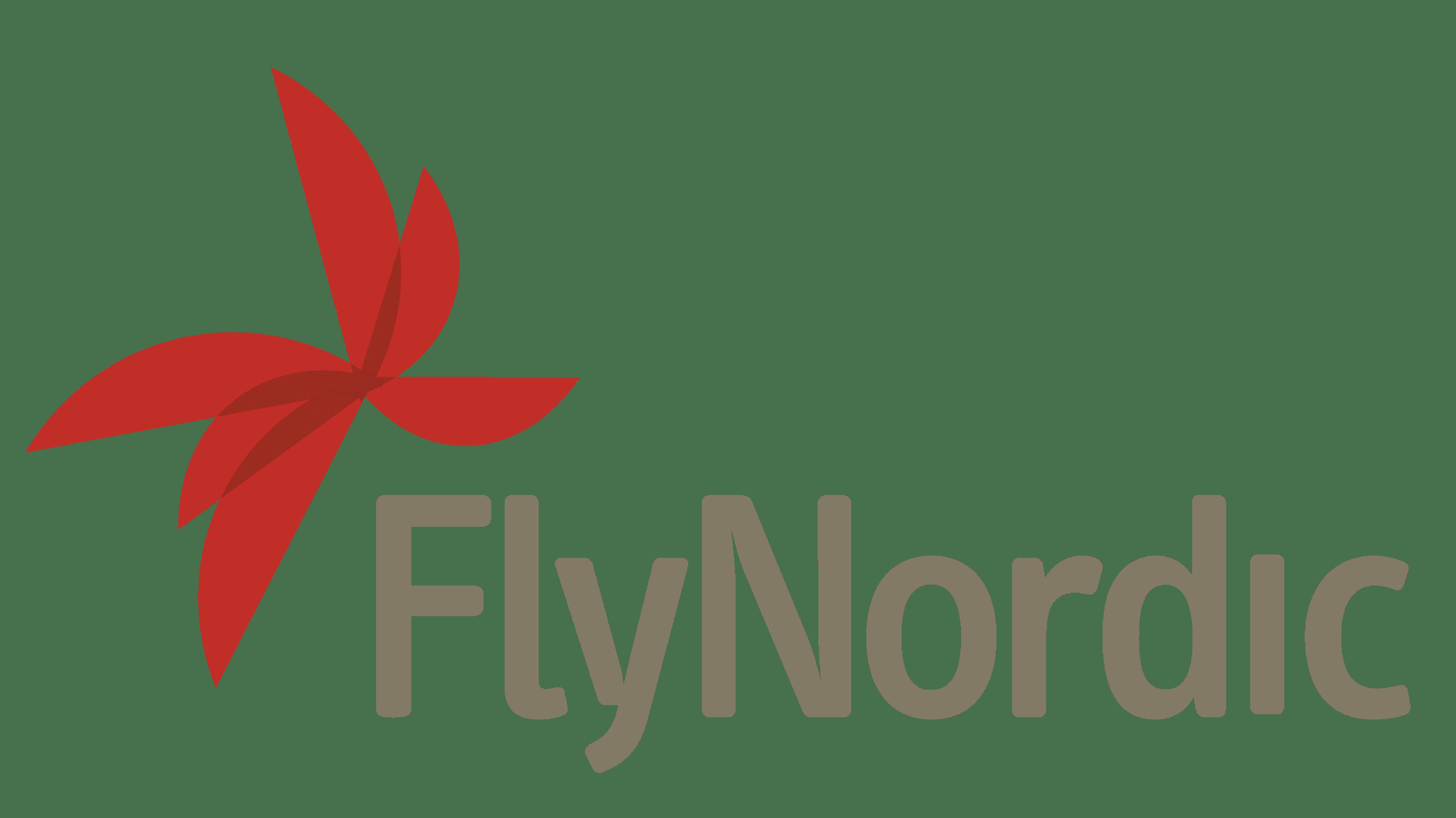 FlyNordic Logo Logo