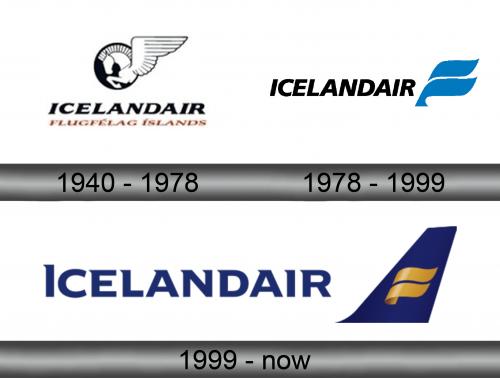 Icelandair Logo history