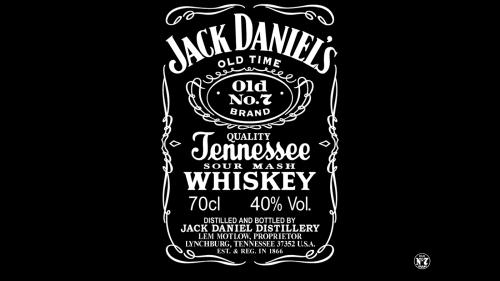 Jack Daniels Logo 1990