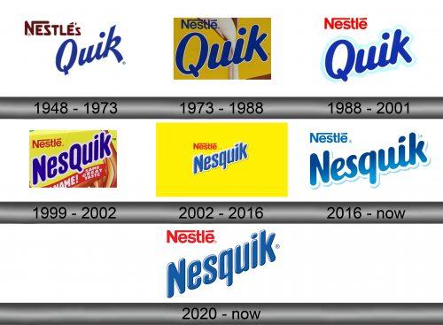 Nesquik Logo history