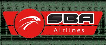 SBA Airlines Logo Logo