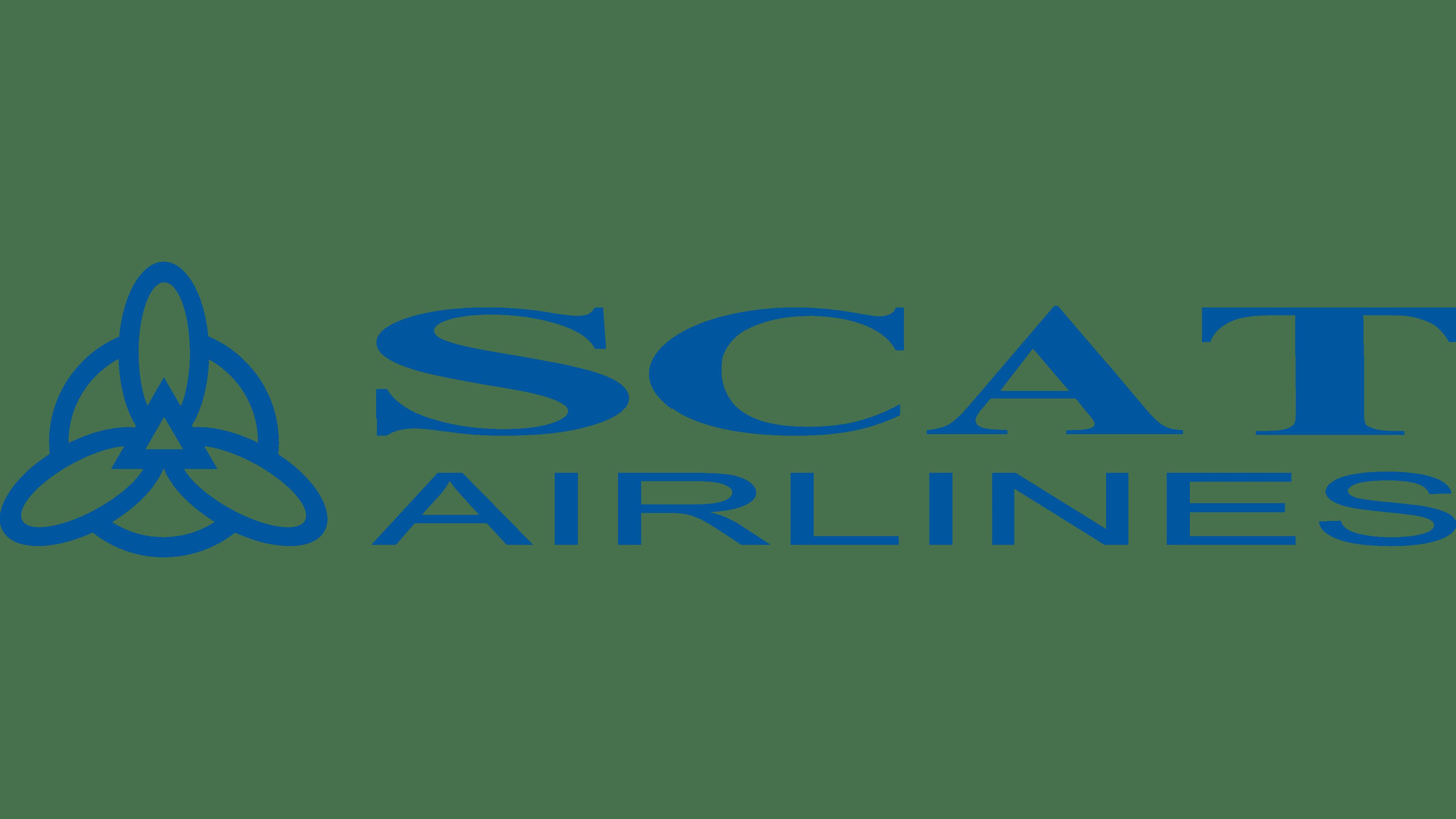 SCAT Airlines Logo Logo
