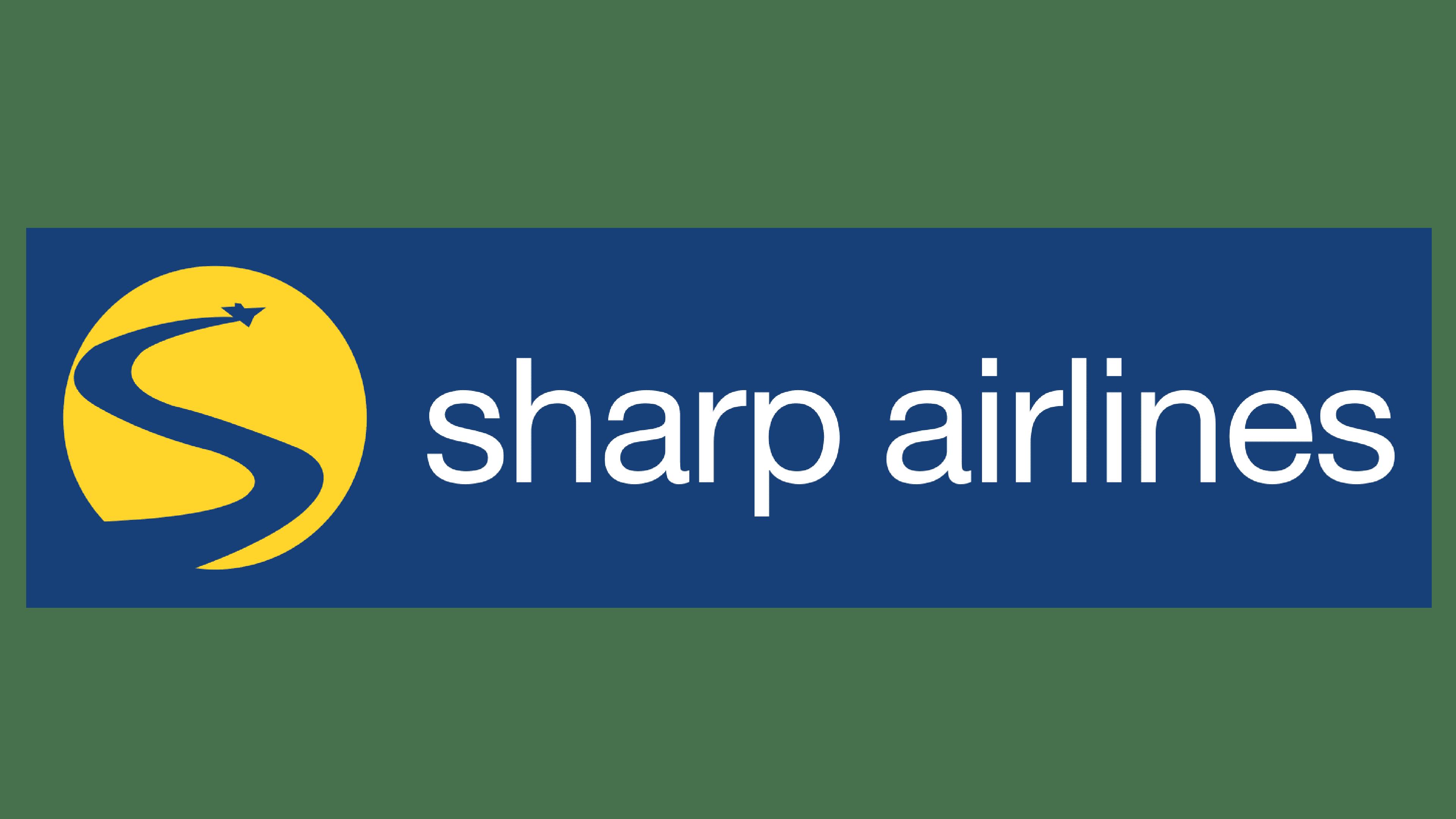Sharp Airlines Logo Logo