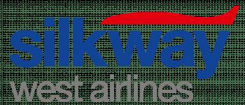 Silk Way West Airlines Logo Logo