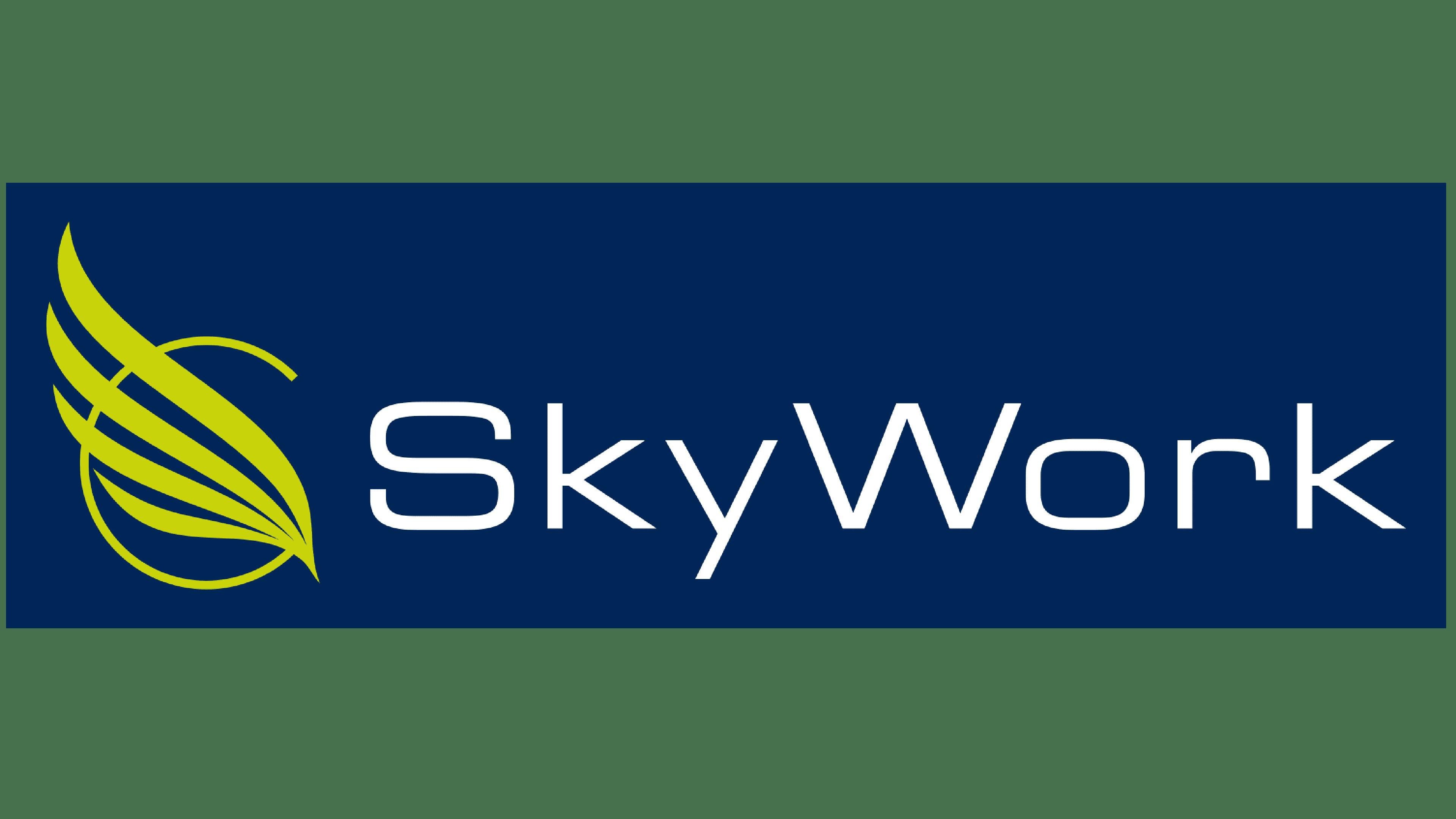 Sky Work Airlines Logo Logo
