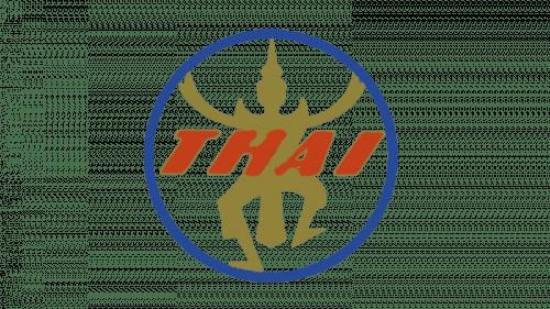 Thai Airways Logo 1960