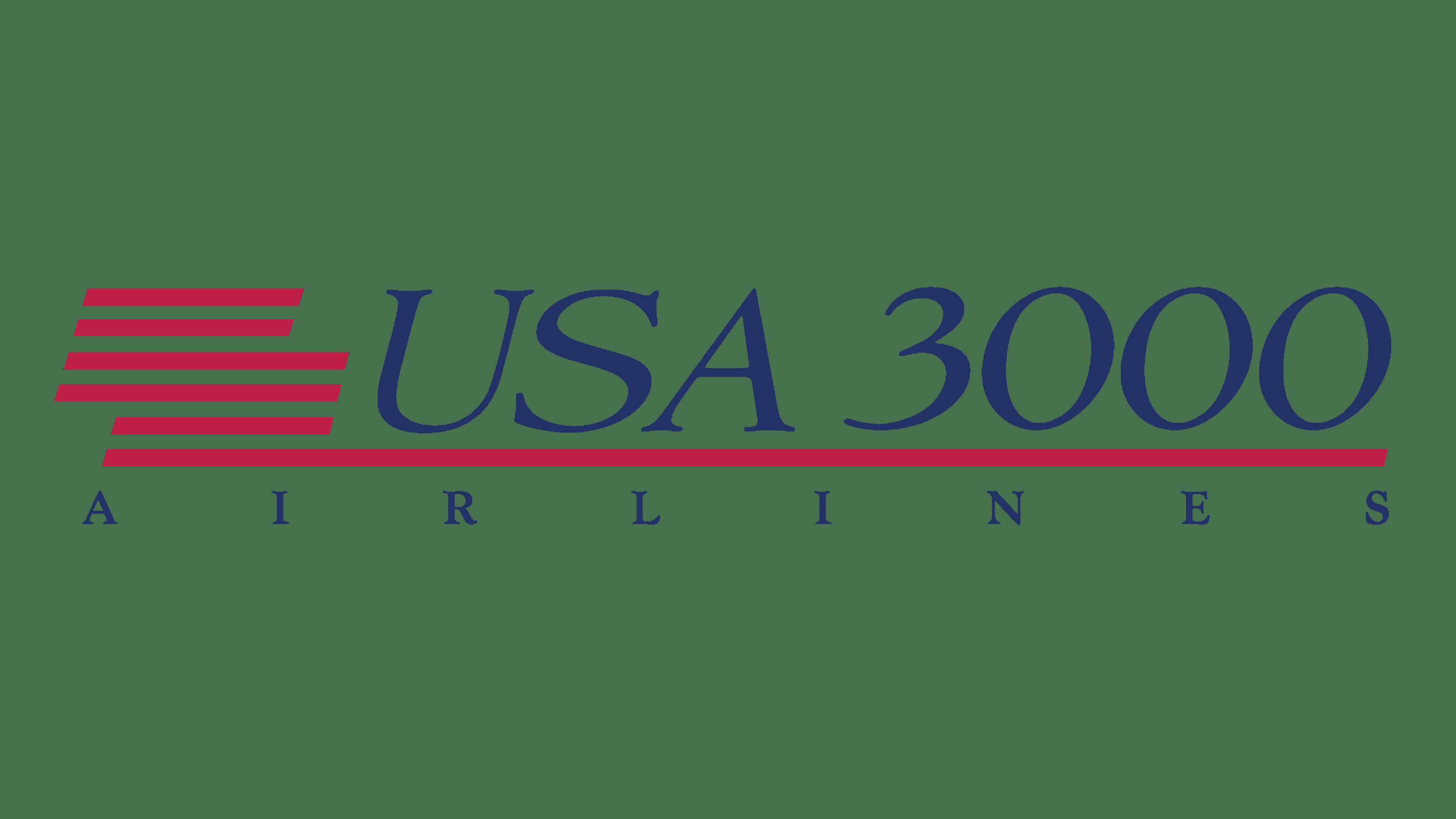USA3000 Airlines Logo Logo