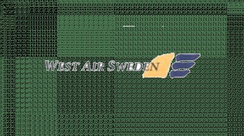 West Air Sweden Logo 1955