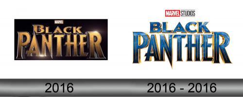Black Panther Logo history