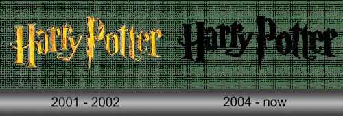 Harry Potter Logo History