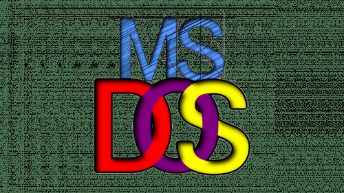 Logo MS DOS