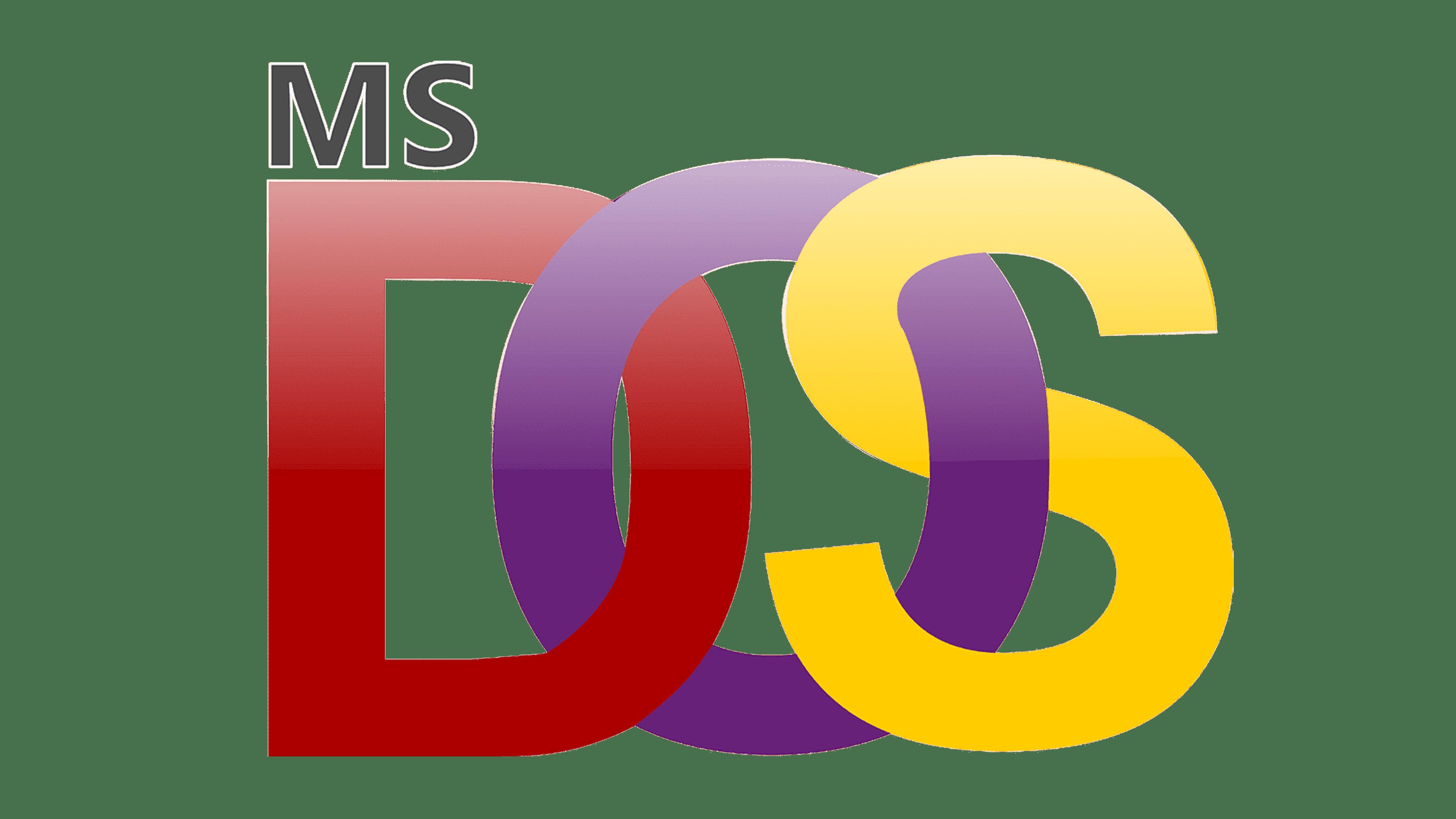 MS-DOS Logo Logo