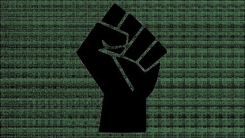 Symbol Black Lives Matter