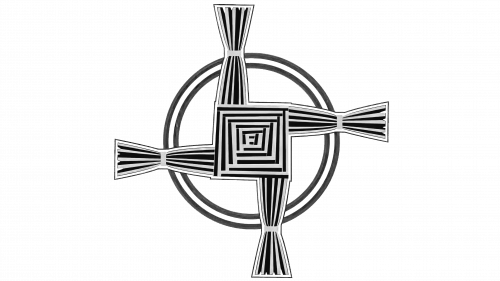 The Cross of St. Brigitte Symbol