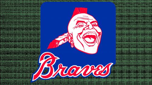 Atlanta Braves Logo 1985