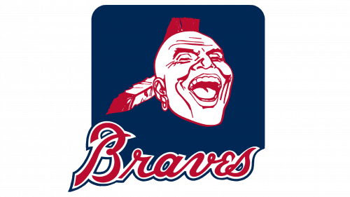 Atlanta Braves Logo 1987