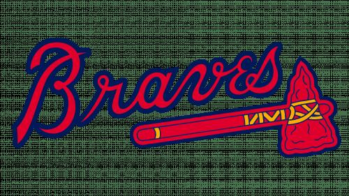 Atlanta Braves Logo 1990