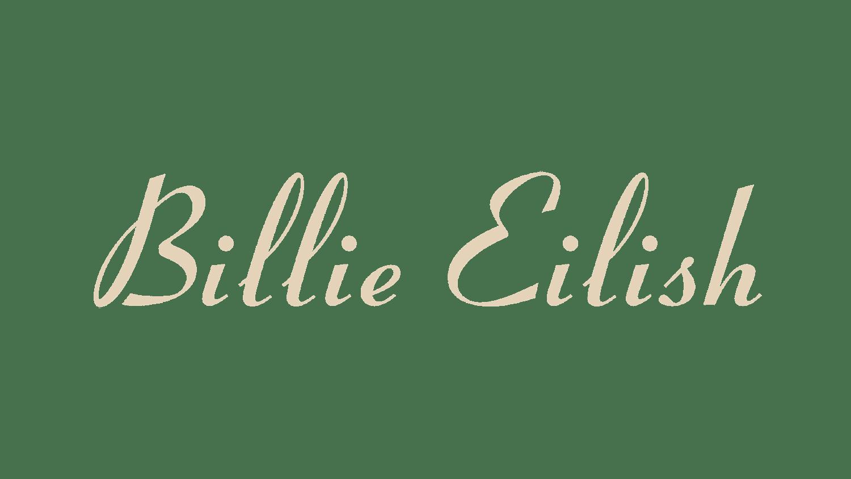 Billie Eilish Logo Logo