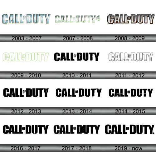 Call of Duty Logo history
