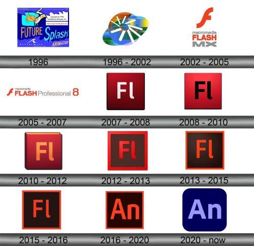Flash Logo history