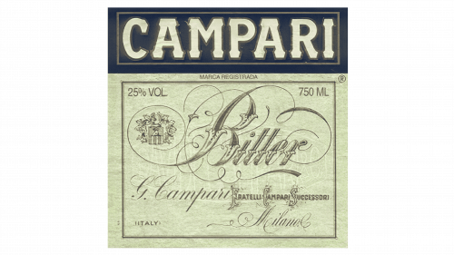 Campari Logo 1912